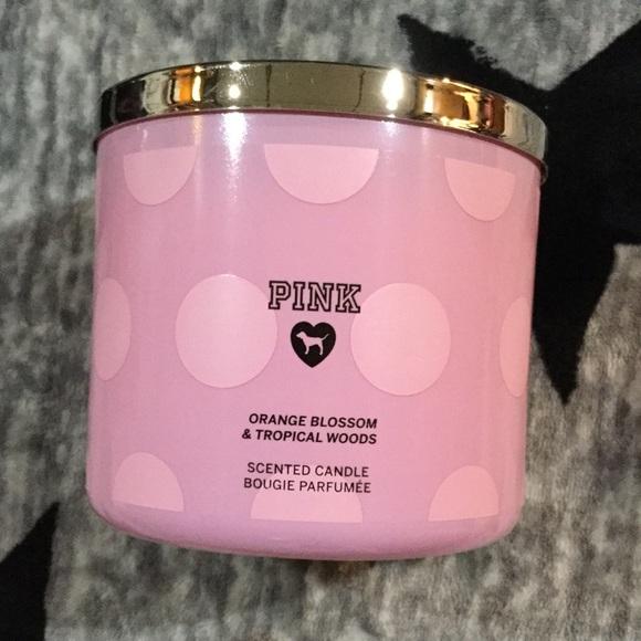 4bb31bc041a69 Victoria's Secret Pink Candle 3/$25